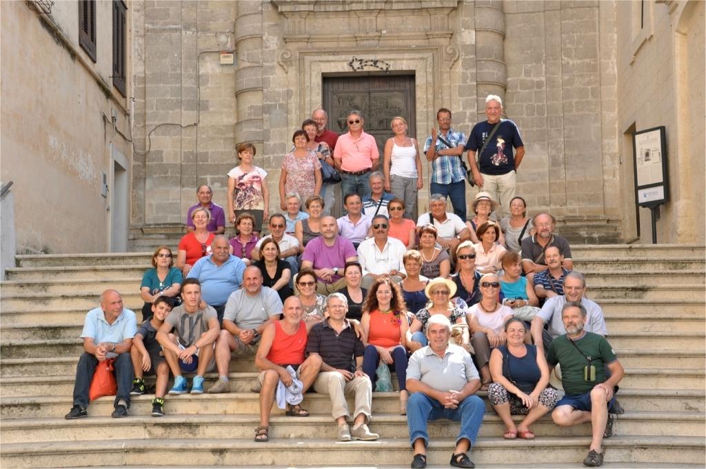 Il gruppo dei bustesi a Senise