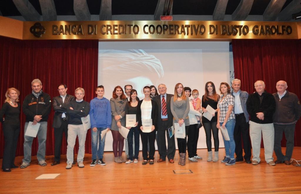 Oranizzatori e premiati del quinto concorso fotografico